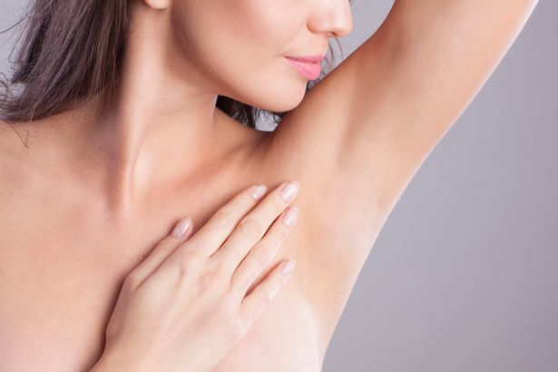 Reduce heavy sweating with muscle relaxant injections